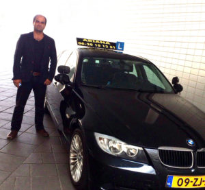 Autorijles in Groningen, Friesland en Drenthe met deze auto en instructeur